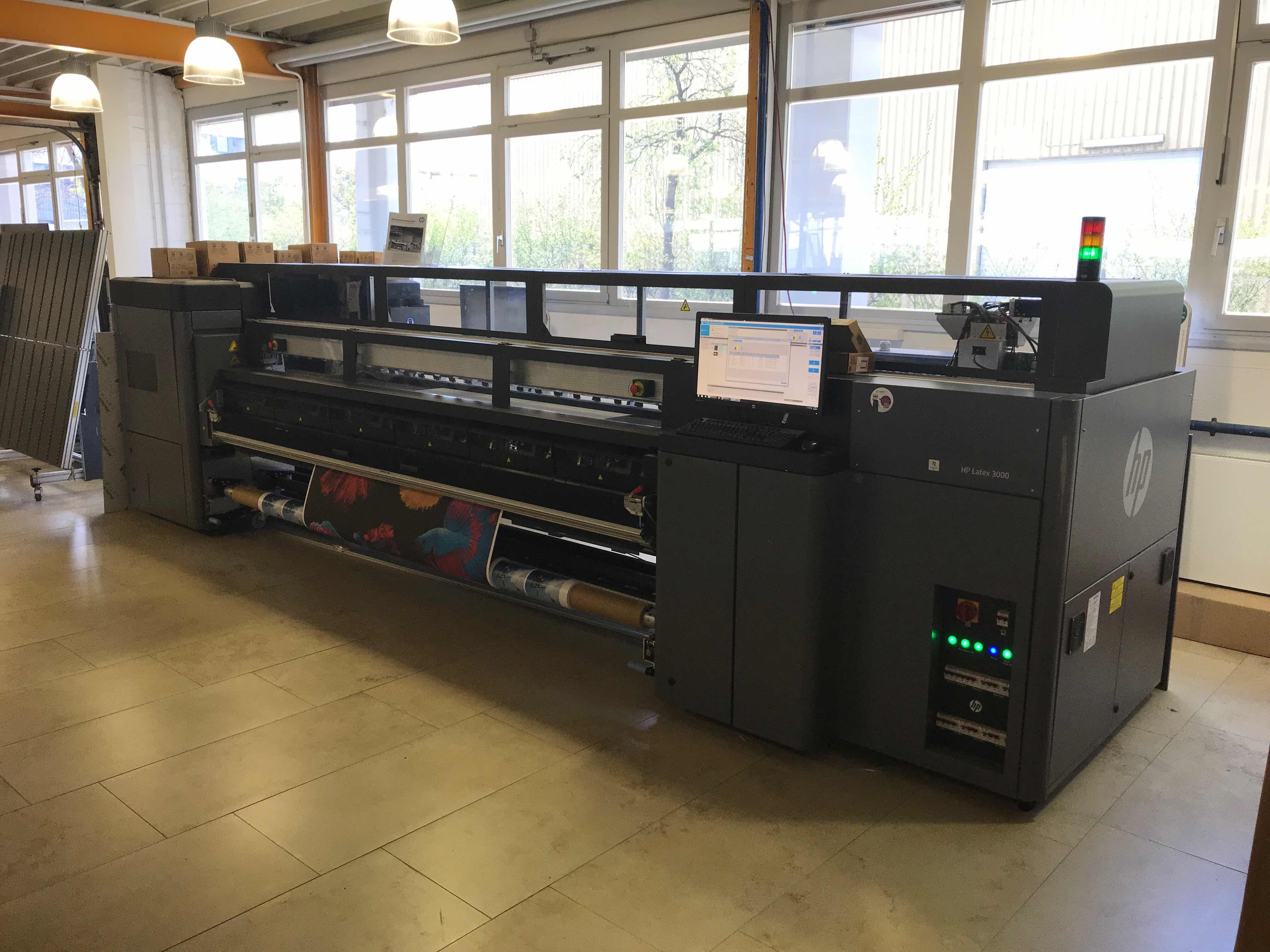 HP Latex 3500 - Gebrauchtgerät